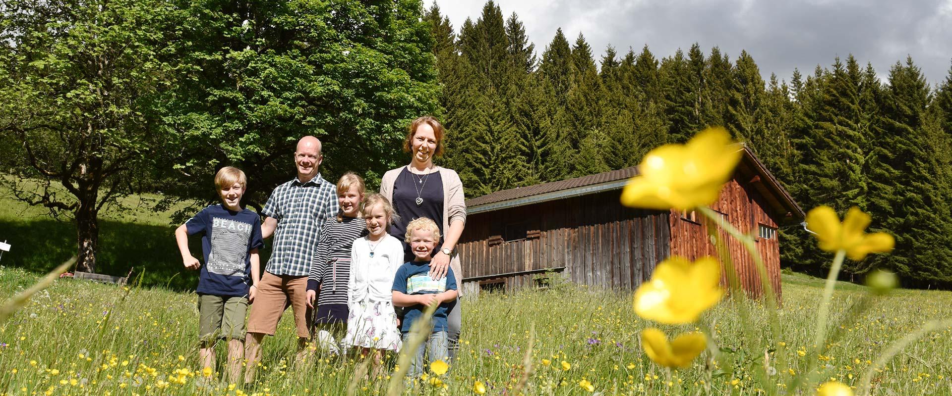 Familie Müller-Kofler