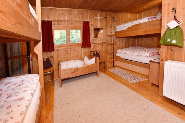 Schlafen Ferienhütte Birihof