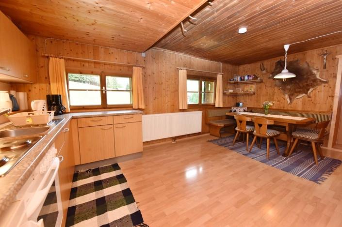 Wohnküche Ferienhaus Birihof